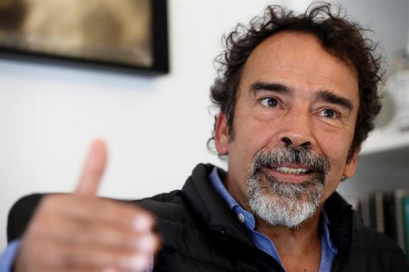 El actor mexicano Damián Alcázar habla en entrevista con Efe. EFE/Archivo
