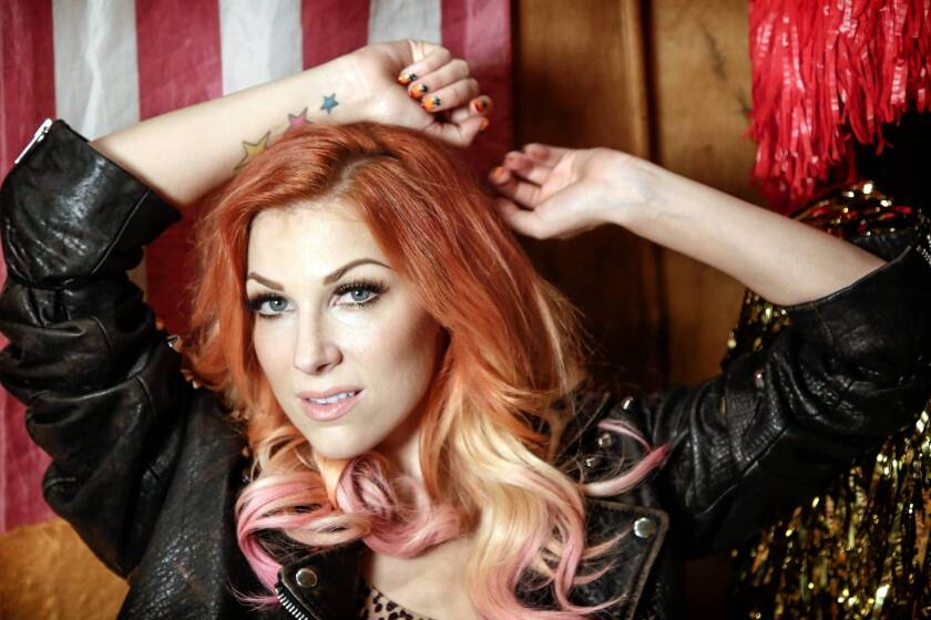 Bonnie McKee has an album coming next year and a spot at the Jingle Ball