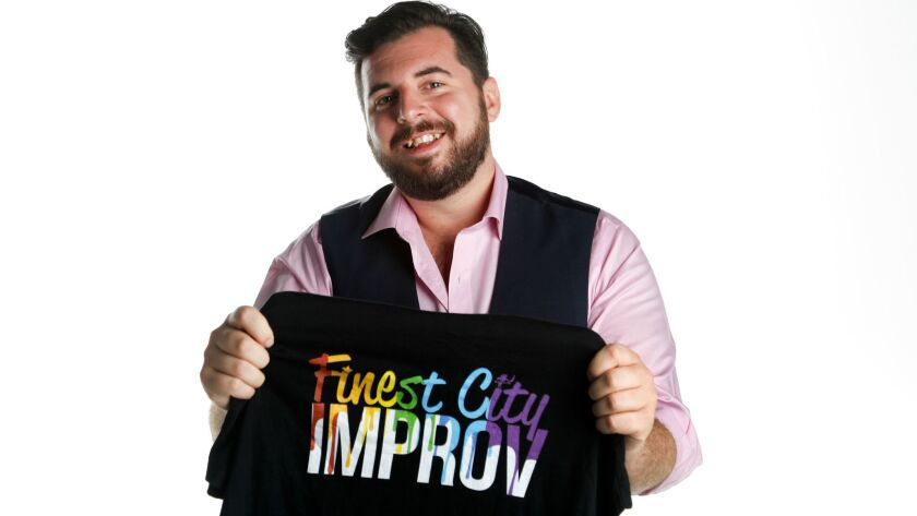Jesse Suphan is co-chair and producer of Impride, the inaugural LGBT improvisational comedy festival, hosted by Finest City Improv in partnership with San Diego Pride.