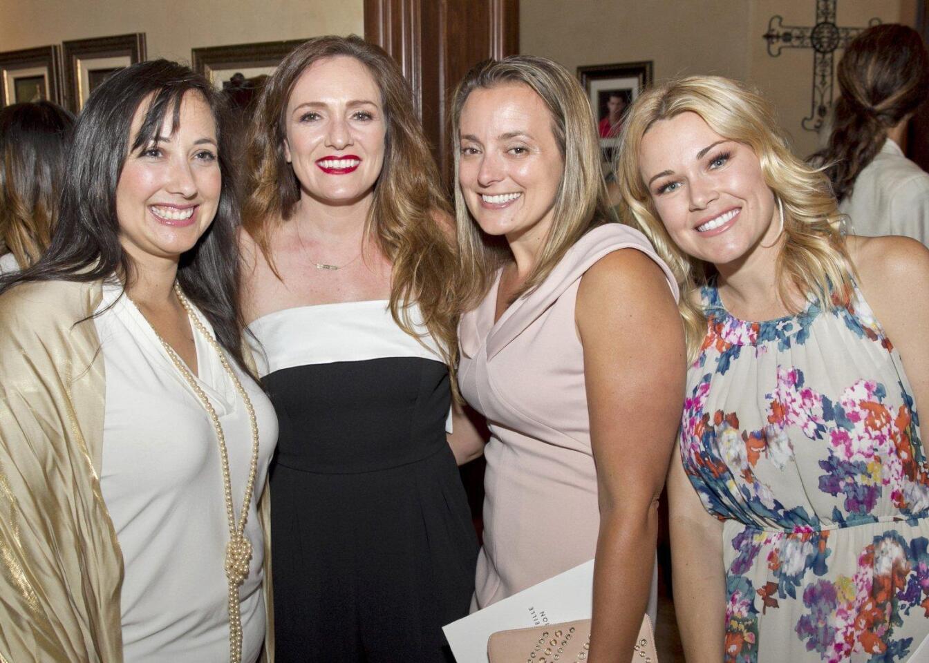 Markita Stamas, Diana Durrell, Kristen Walker, Lindsay Kujawa