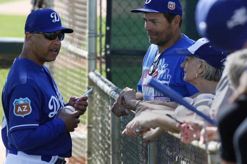 Letters: Time for the airing of Dodgers grievances