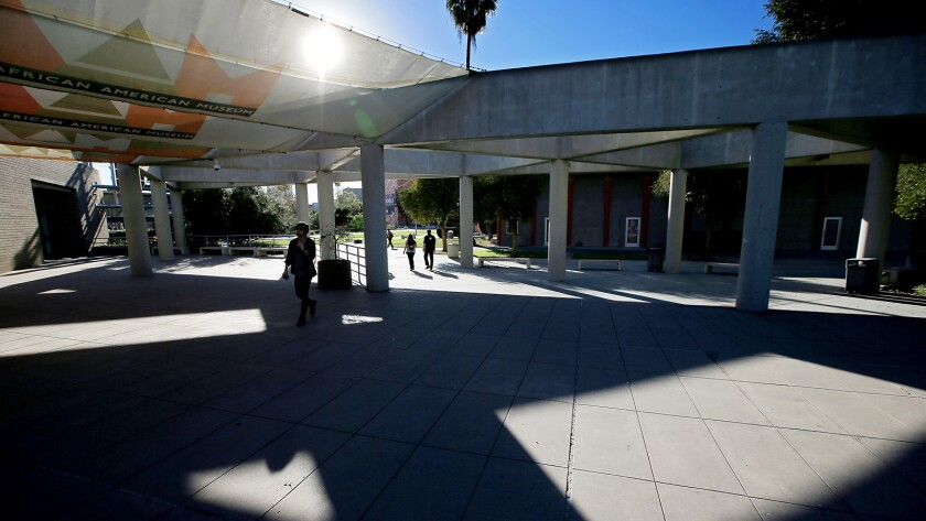 The museum, which offers free admission to the public, focuses on African American history and culture, with an emphasis on California and the Western U.S.
