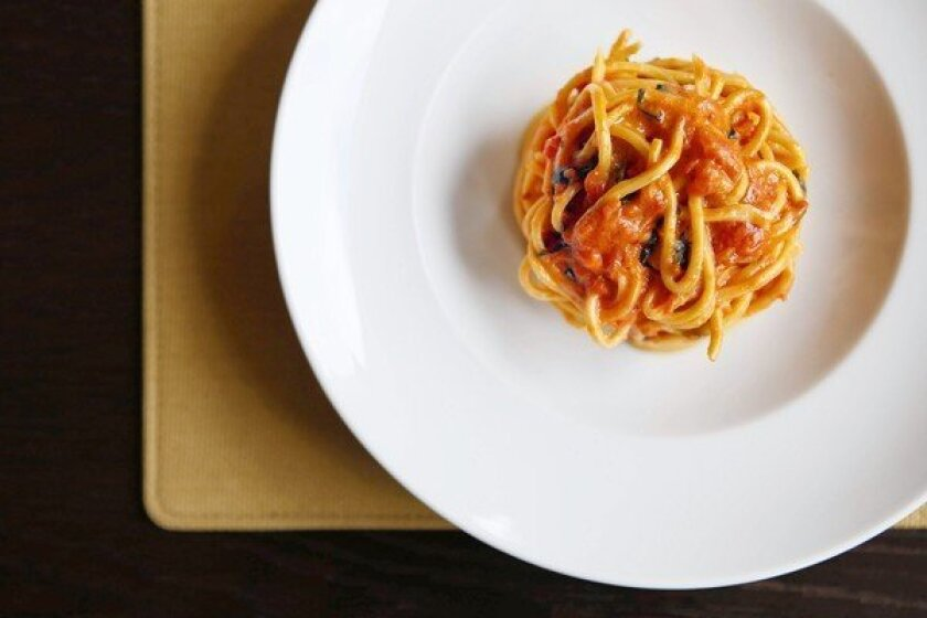 Pasta is an art form at Scarpetta, in the Montage Beverly Hills.
