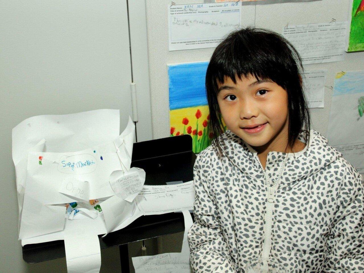 Rasia Yu, 1st grade