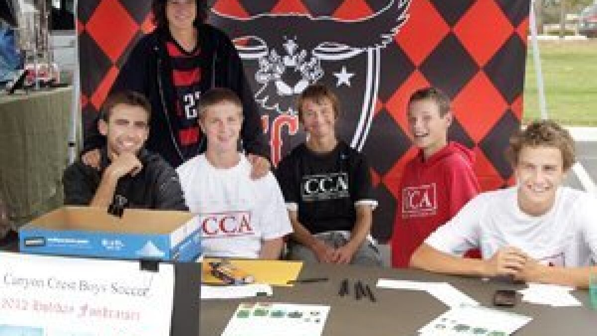 Canyon Crest Academy Boys Soccer Holiday Fundraiser at CCA