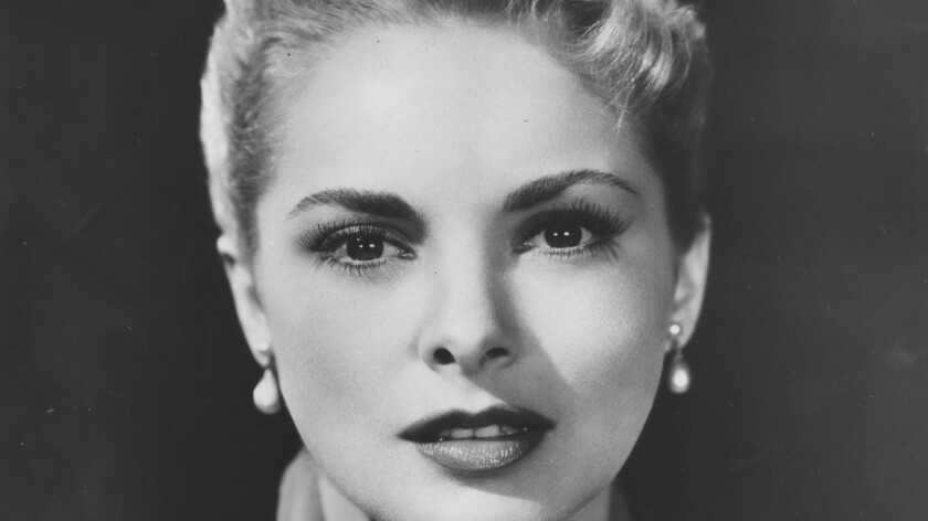 Janet Leigh shown in 1957.