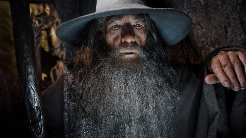 "Ian McKellen portrays Gandalf in ""The Hobbit: The Desolation of Smaug."" (MCT) ORG XMIT: 1146477"