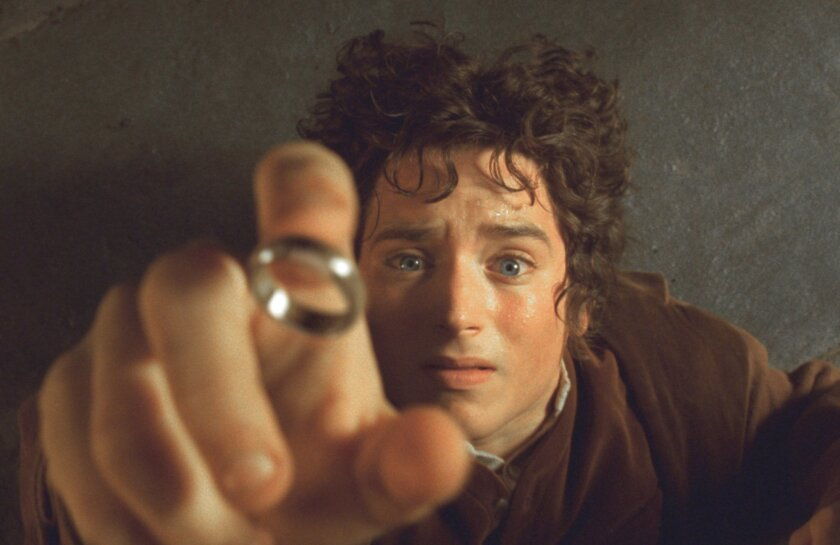 Actor Elijah Wood appears as the Hobbit Frodo in 'The Lord of The Rings: The Fellowship of the Ring,' which is coming back to theaters with close to an hour of extra footage. Pierre Vinet, New Line Cinema