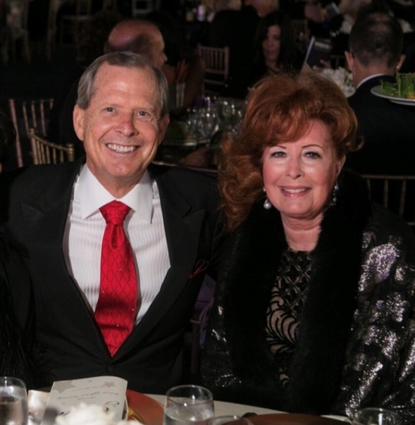 David Malcolm and Dianne Bashor will be honored for their support of the San Diego-Imperial Council of the Boy Scouts.