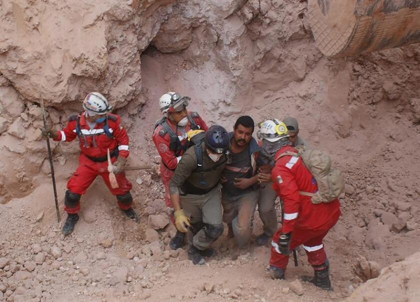 Con el rescate de los cuerpos de dos mineros se elevó hoy a tres el número de muertos tras el colapso de un muro en la mina Río Tinto el pasado 4 de junio, informó hoy Protección Civil del estado mexicano de Chihuahua, norte del país. EFE/Archivo