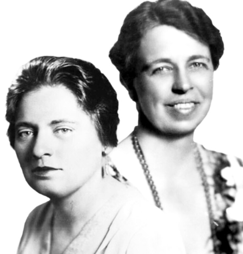 """Tea with Mrs. Roosevelt"" is about real-life friends Lorena Hickok and Eleanor Roosevelt."