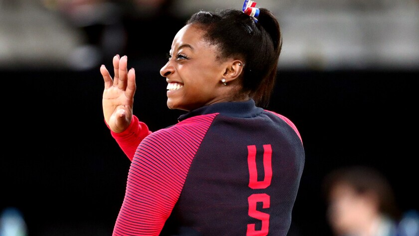 American gymnast Simone Biles became the fourth woman to win four gold medals at one Summer Olympics, the first since 1994.