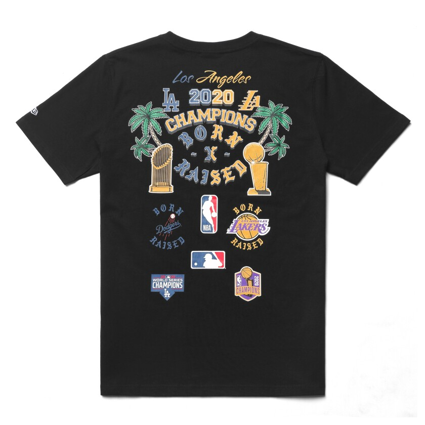 Born X Raised City of Champions T-shirt