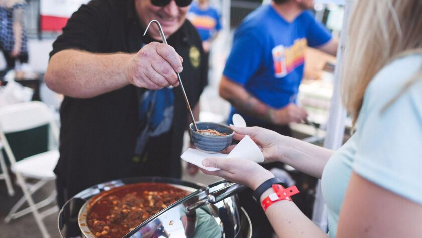 The sixth annual SoNo Fest & Chili Cook-Off will be held in North Park on Sunday.