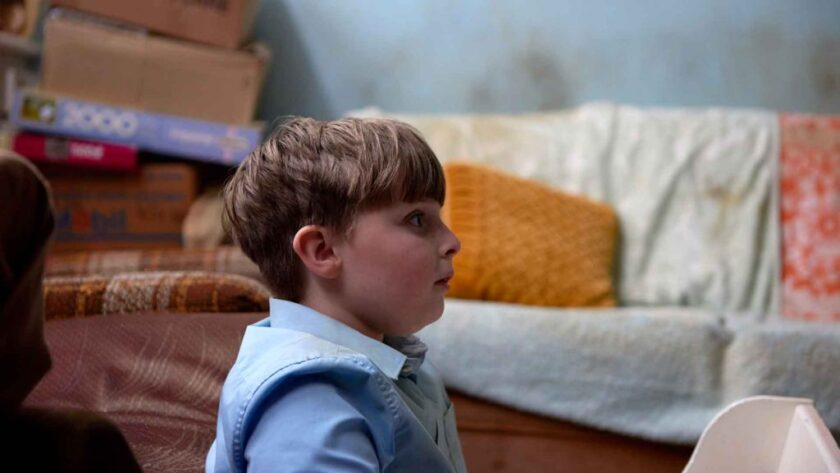 "Joshua Millard-Lloyd in the movie ""Ray & Liz."""