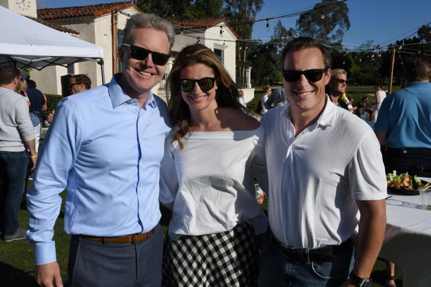 Greg Kaminsky, Stephanie and Justin Smith