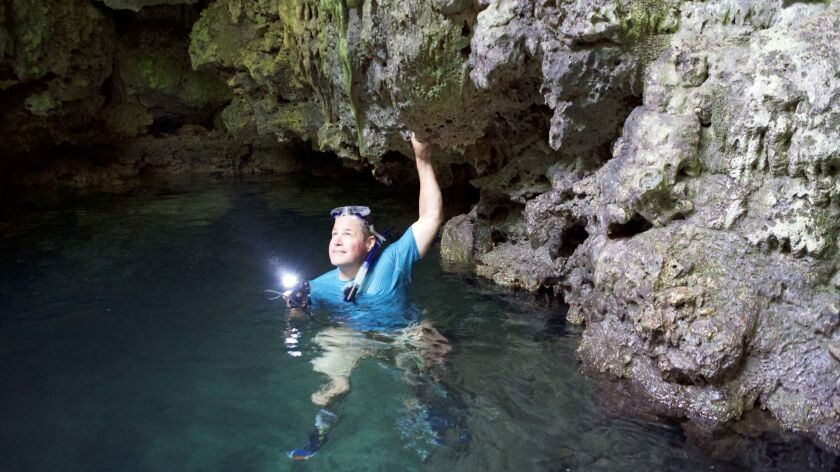 """Jeff Corwin, host of """"Ocean Treks,"""" explores the world for Carnival Corp. credit: Carnival"""