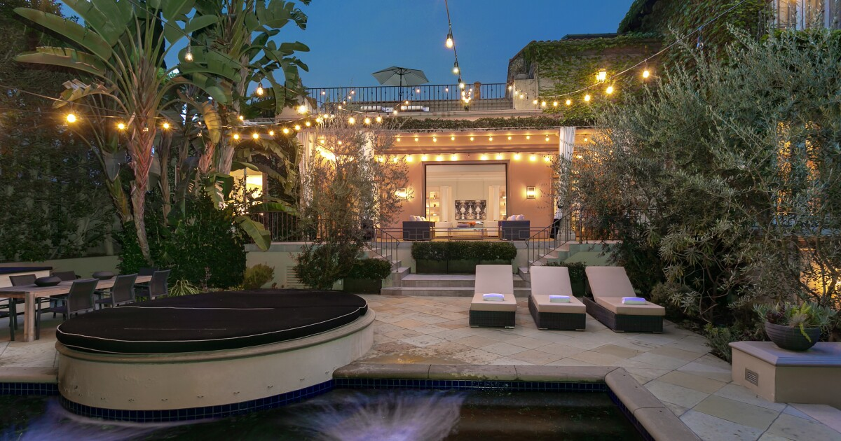 Guitarist Jason Sinay seeks $6.5 million for pedigreed West Hollywood villa