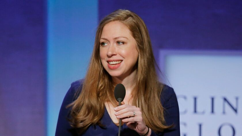 Chelsea Clinton speaks at the Clinton Global Initiative in New York on Sept. 19, 2016.
