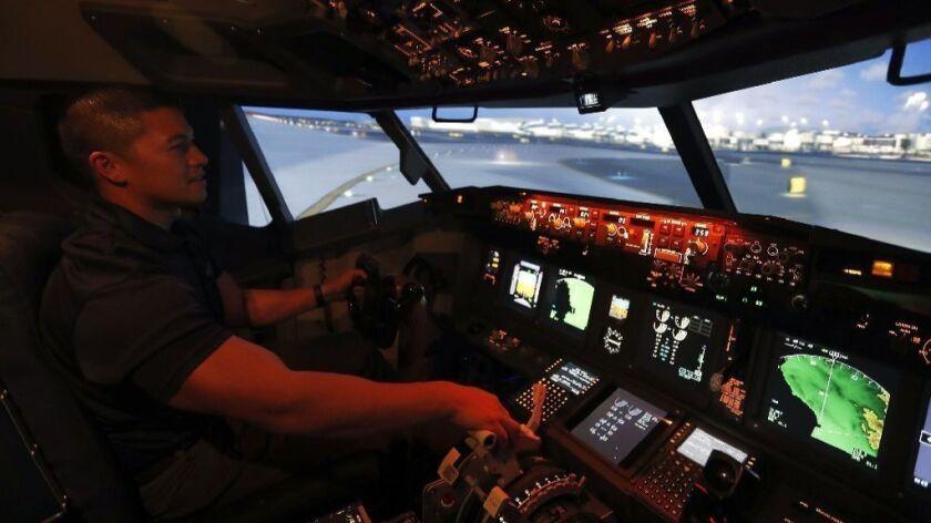 Become a pilot for a day at Anaheim's Flightdeck Flight Simulation Center