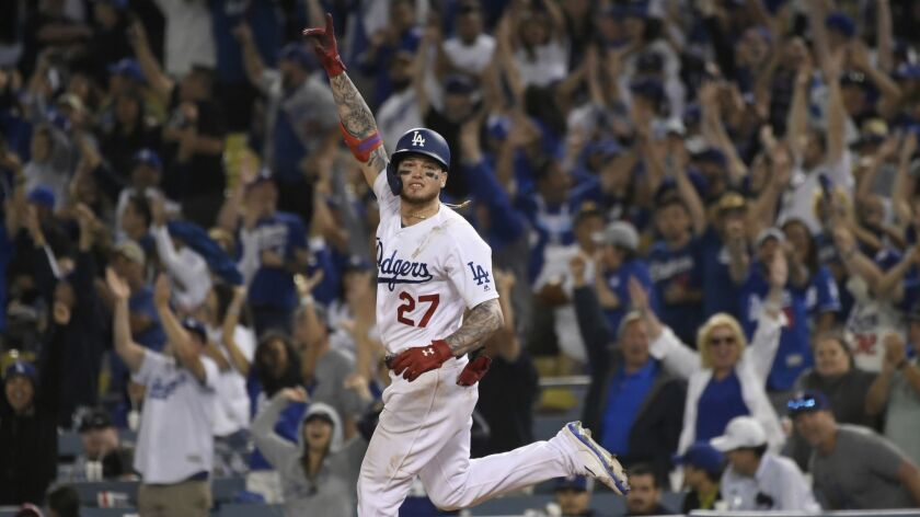 Alex Verdugo's walk-off homer in 11th lifts Dodgers over Rockies
