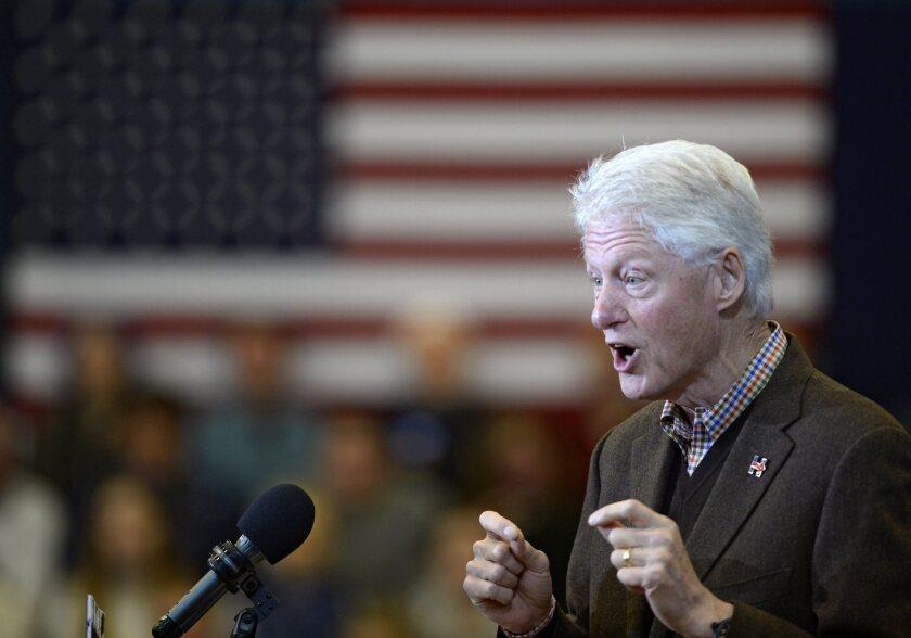 Bill Clinton in New Hampshire