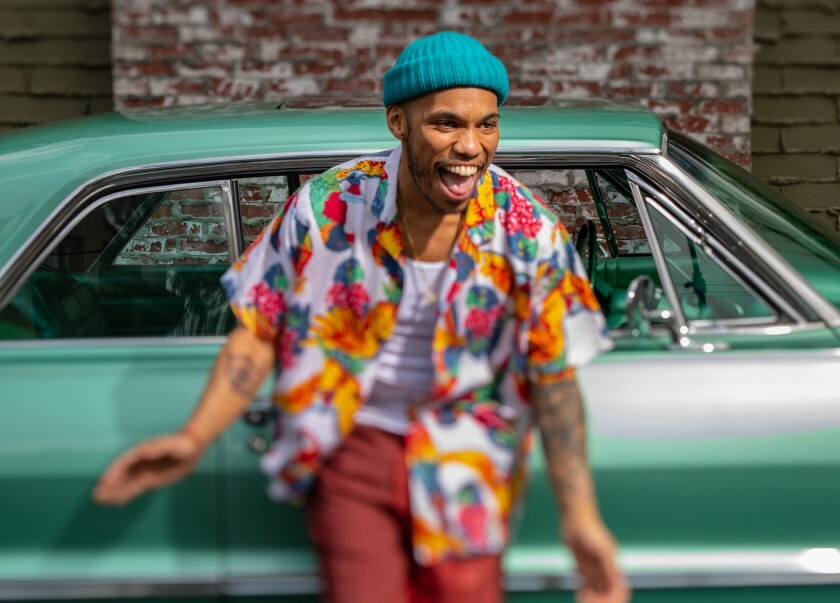 Anderson .Paak, the R&B singer-rapper-drummer-producer that broke
