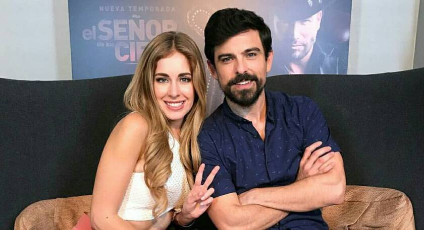 Rutila y Víctor Casillas