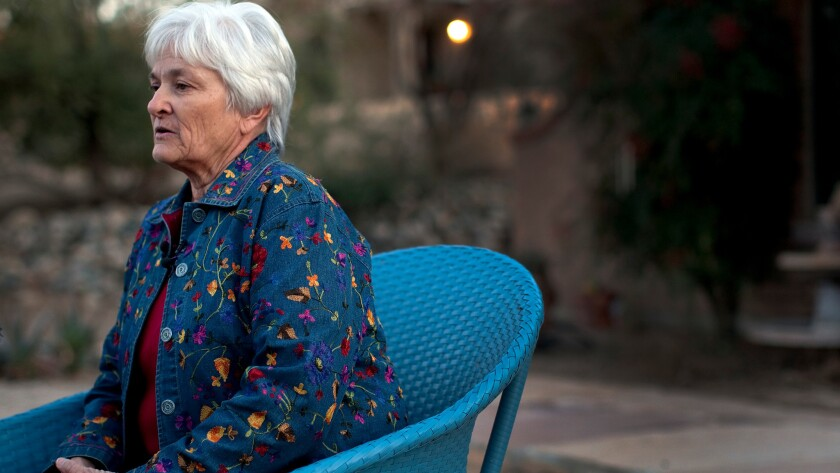 Patricia Maisch at home in Tucson.