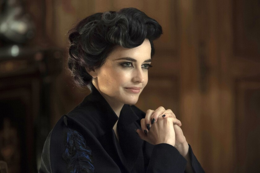 "Eva Green stars in ""Miss Peregrine's Home for Peculiar Children."""