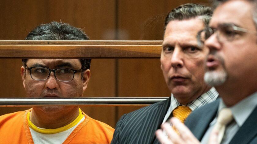 LOS ANGELES, CALIF. - JUNE 21: Naason Joaquin Garcia, the leader of fundamentalist Mexico-based chur