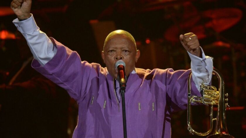 Hugh Masekela remembered: In this 1990 interview, he and