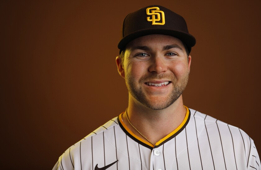 San Diego Padres outfielder Michael Gettys