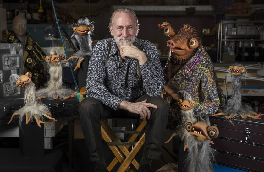 Brian Henson and muppets