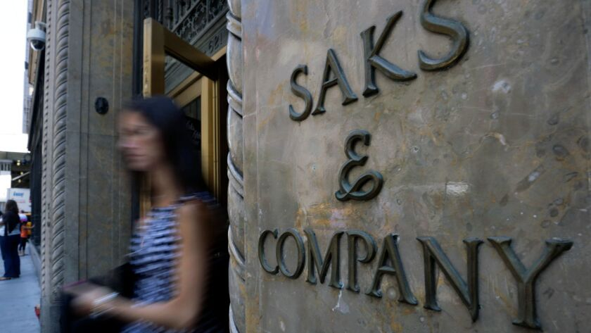Data Breach Hits Saks Fifth Avenue Lord Taylor Stores Los Angeles Times