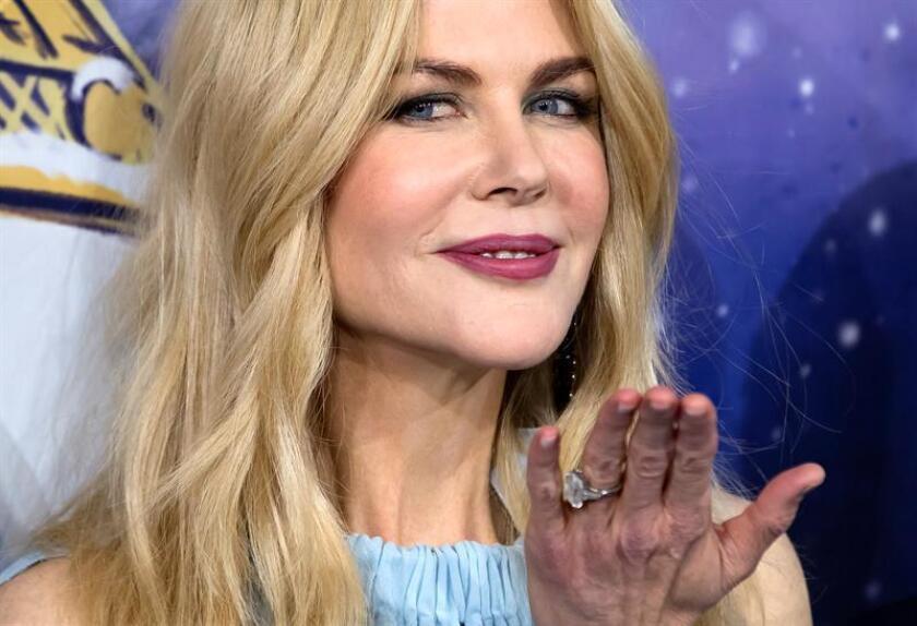 """La miniserie """"Big Little Lies"""" apunta a ser la gran protagonista en las categorías televisivas de la 75 edición de los Globos de Oro tras alzarse hoy con un total de 6 nominaciones, entre ellas dos de mejor actriz protagonista para Nicole Kidman y Reese Whiterspon. EFE/ARCHIVO"""