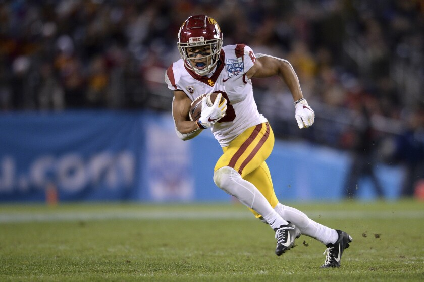 USC wide receiver Amon-ra St. Brown could play a big role.