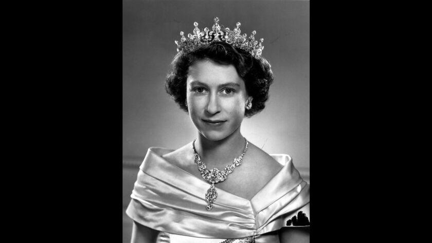 Princess Elizabeth in 1951, one year before she became Queen Elizabeth II.