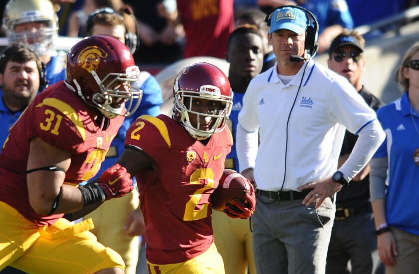 UCLA pays a price for punting to USC's Adoree' Jackson