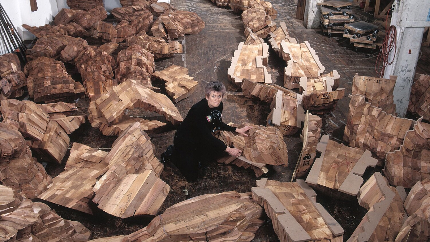 Review: 'Ursula von Rydingsvard: Into Her Own' is a movie you want to reach out...