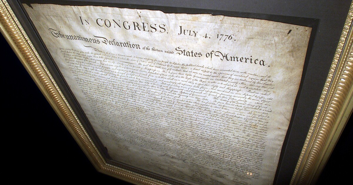 July 4th: Can we ever live up to Declaration of Independence?
