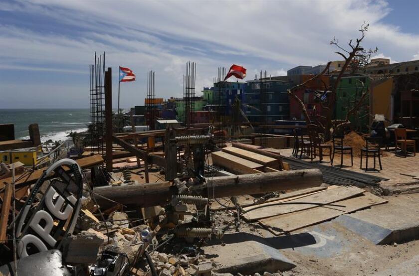 Las aseguradoras ya han desembolsado en Puerto Rico pagos que sobrepasan los 300 millones de dólares por el huracán María. EFE/ARCHIVO