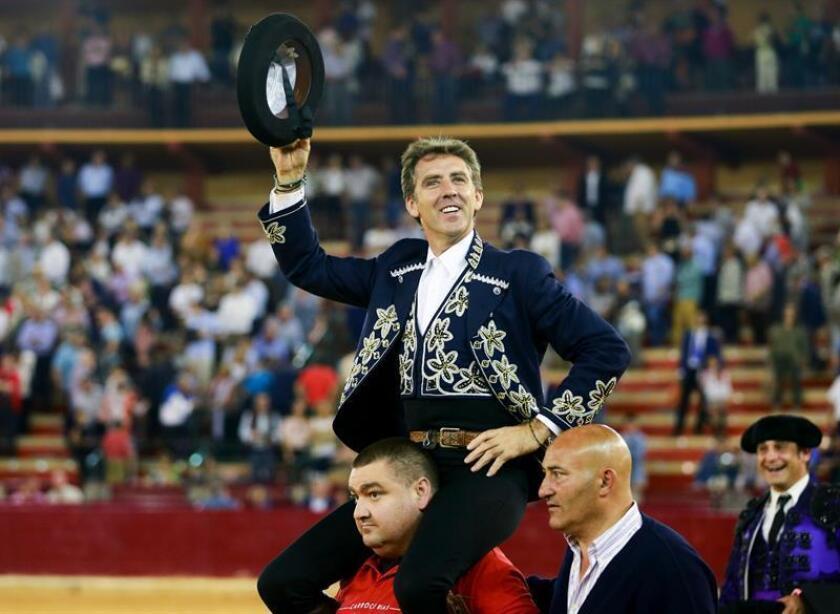 Pablo Hermoso, dos orejas en la corrida de feria de Teocaltiche