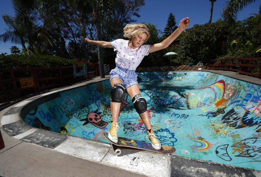 Encinitas skateboarder Bryce Wettstein will represent the United States at the Olympics.