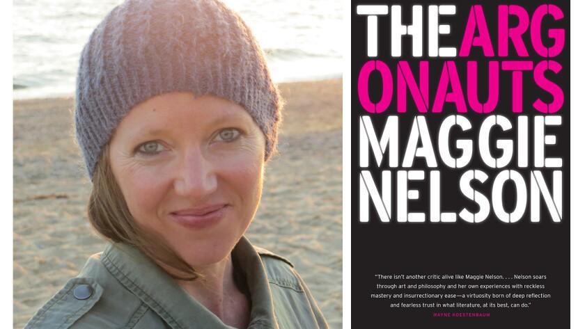 "Maggie Nelson, author of the book ""Argonauts"""