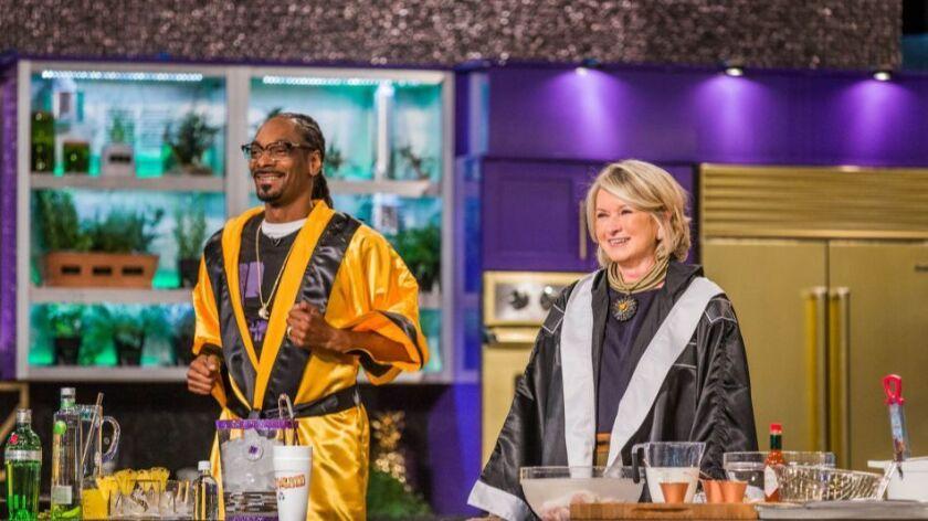 'Martha & Snoop's Potluck Dinner Party'