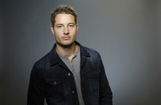 "Justin Hartley, who stars in ""This is Us,"" is photographed for the Los Angeles Times Emmy Contender Web Chats."