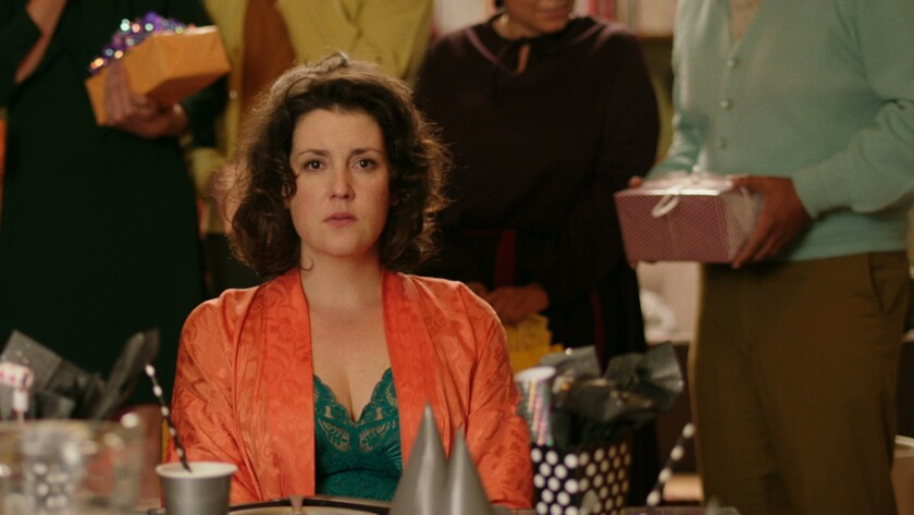 "Melanie Lynskey in ""The Birthday Party,"" one of four horror shorts in the anthology ""XX."""
