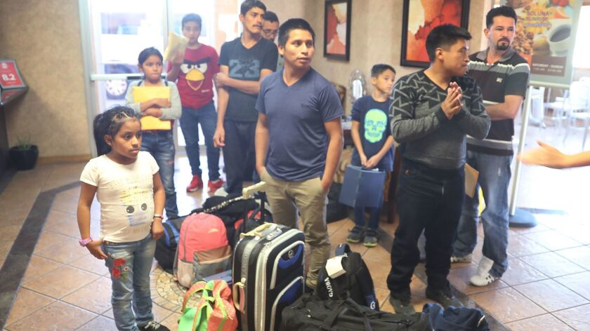 Immigrants Reunited With Their Children After Release From Detention In TX