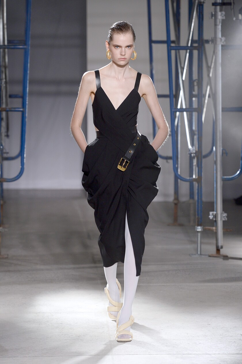 A look from the spring and summer 2020 Proenza Schouler runway collection